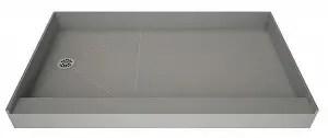 Tile Redi USA P3048L-PVC-13x6-4.5-4.5 Redi Single Curb Shower Pan