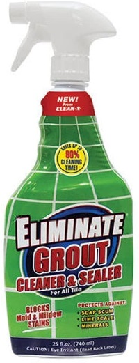 Eliminate Grout Cleaner and Sealer