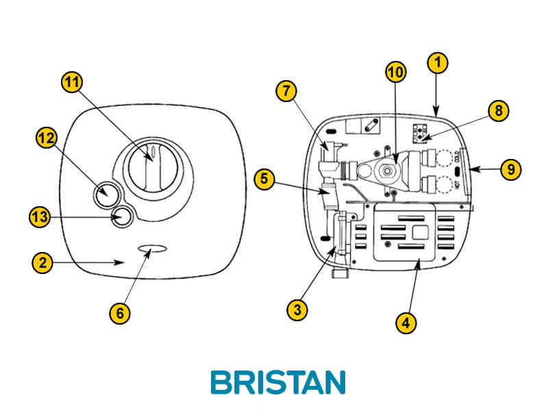 Shower spares for Bristan Hydropower Thermostatic