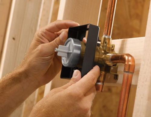 how to install a shower valve shower