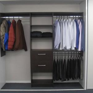 Melamine Wardrobe Shelving