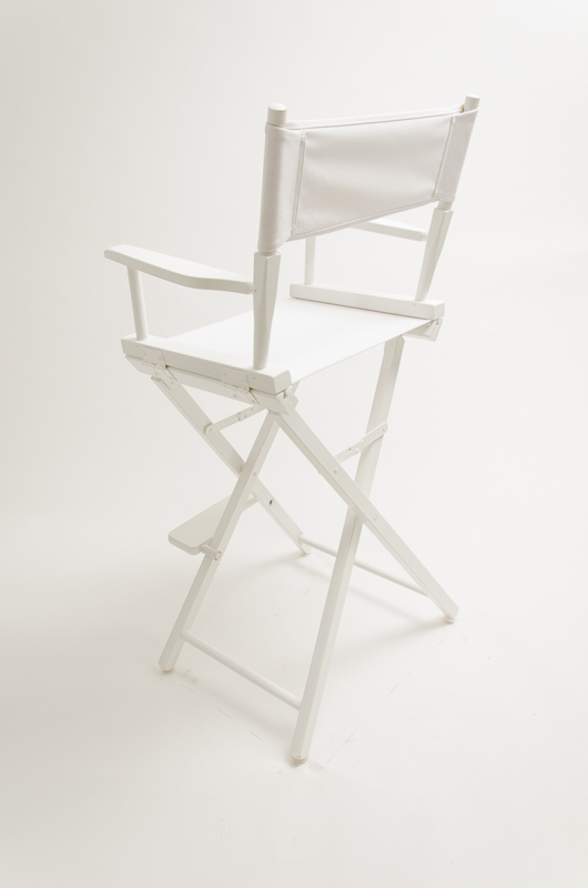 directors chair white accent chairs under 150 gold medal commercial 30 canvas wood back