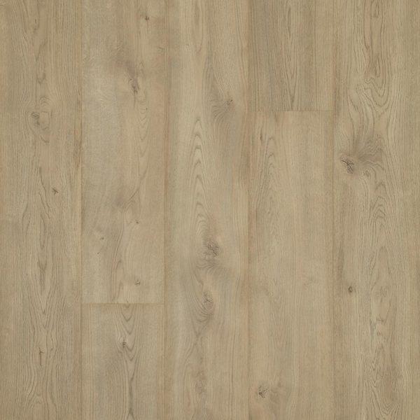 Closeup of Pergo Champagne Oak vinyl flooring
