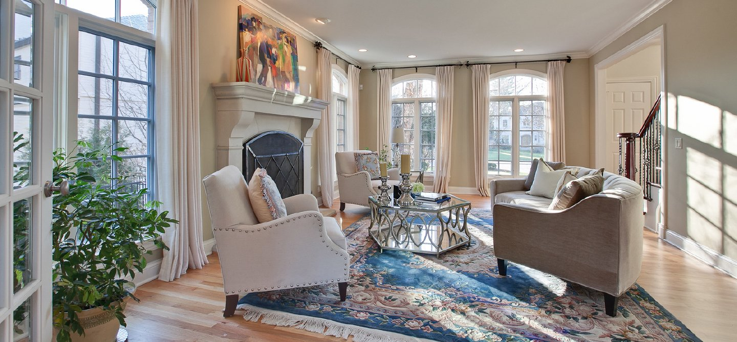 staging a living room feng shui water fountain in showhomes america s largest home company about us