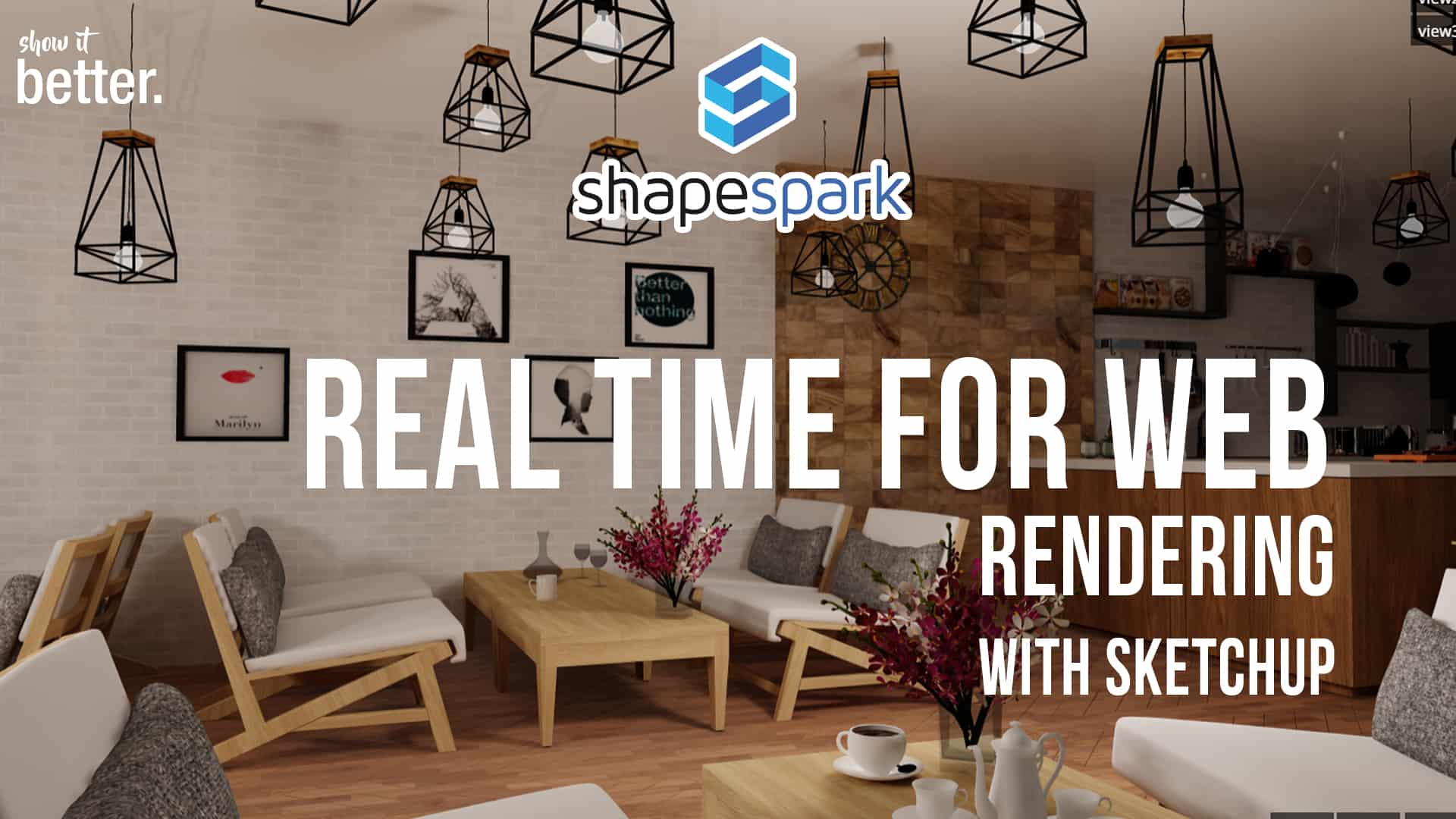 A Real Time Rendering Program for Web!!  Shapespark Review