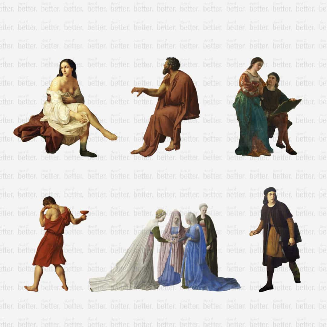Classical Human Figures PI