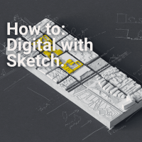 Combining Architectural Representation Methods Diagrams and Sketch.