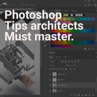 Photoshop tips every architect MUST master!