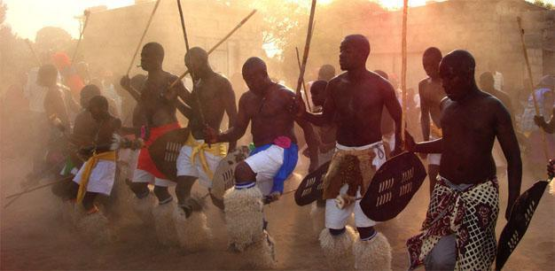 Shangaan traditional dancing
