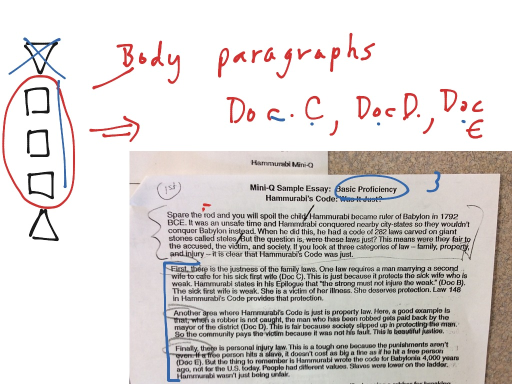 Hammurabis Code Dbq Essay