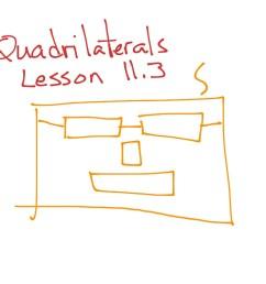 GoMath Grade 5: 11.3 Quadrilaterals   Math [ 768 x 1024 Pixel ]