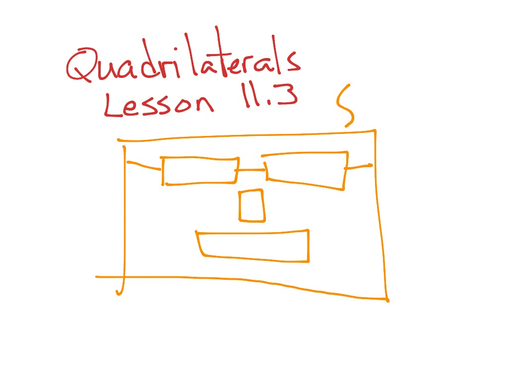 hight resolution of GoMath Grade 5: 11.3 Quadrilaterals   Math