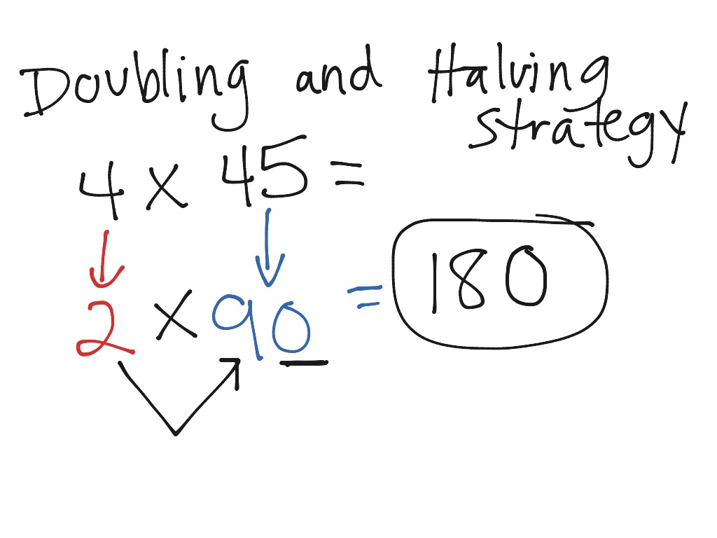 Doubling Amp Halving Strategy