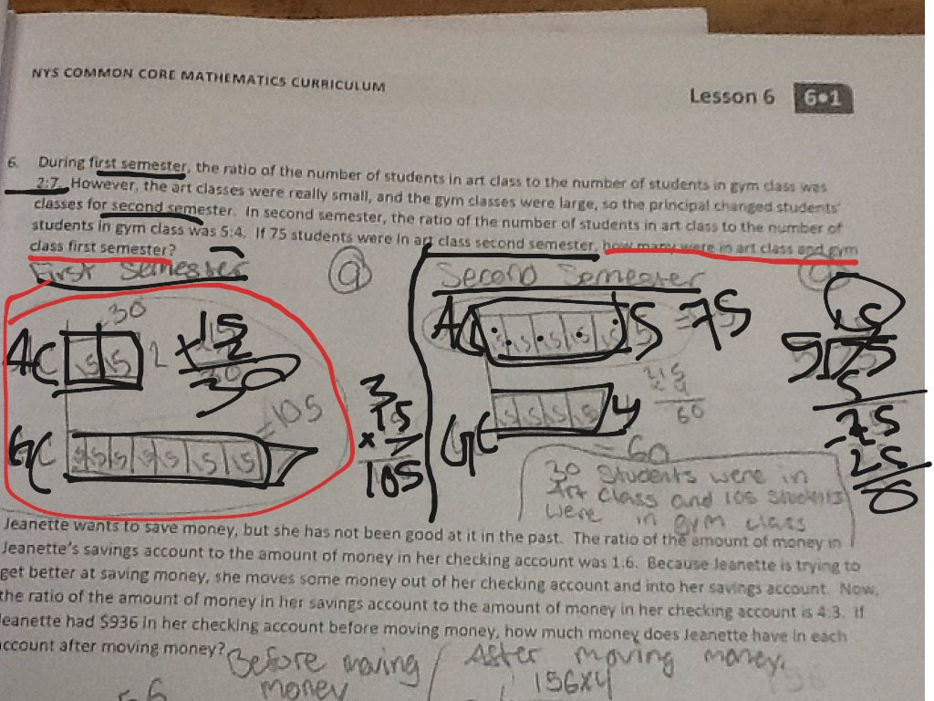 hight resolution of Solving problems by finding equivalent ratios using tape diagrams   Math