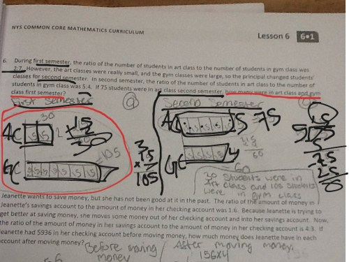small resolution of Solving problems by finding equivalent ratios using tape diagrams   Math