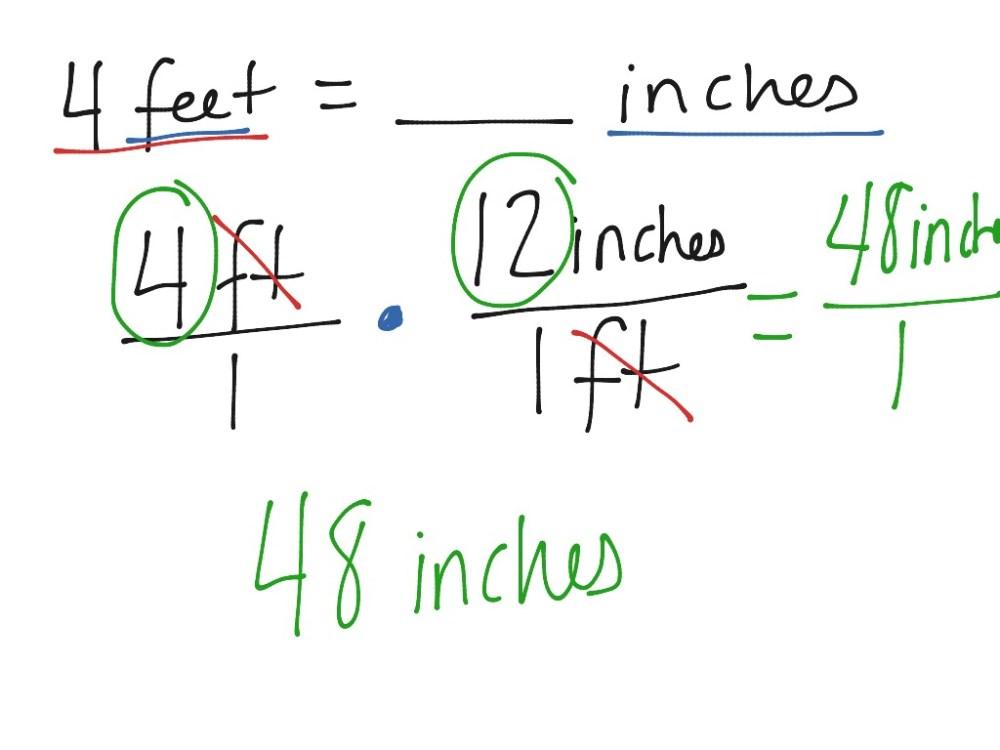 medium resolution of Converting units of measure   Math