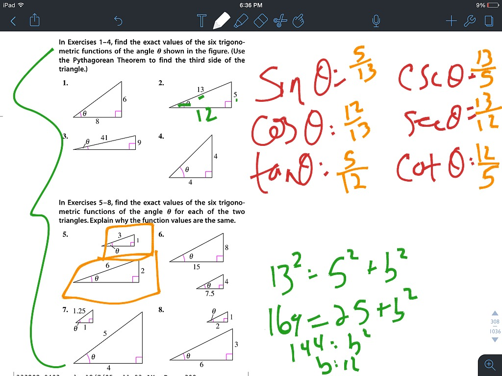 4 3 Intro To Right Triangle Trig
