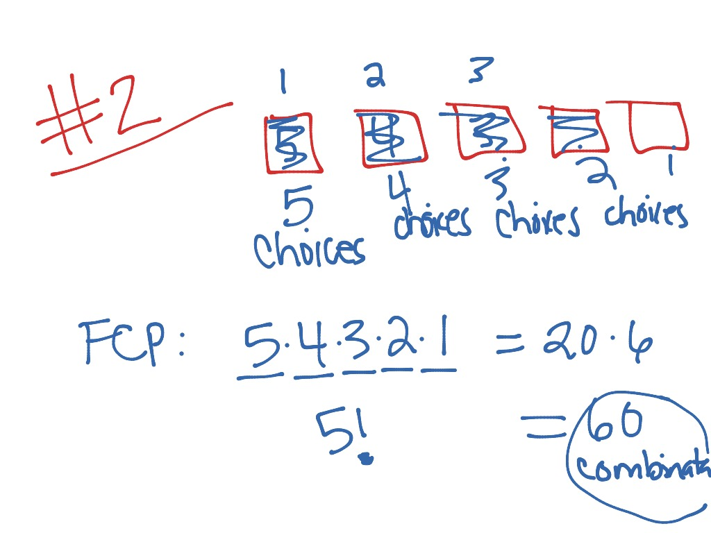 Fundamental Counting Principle Video