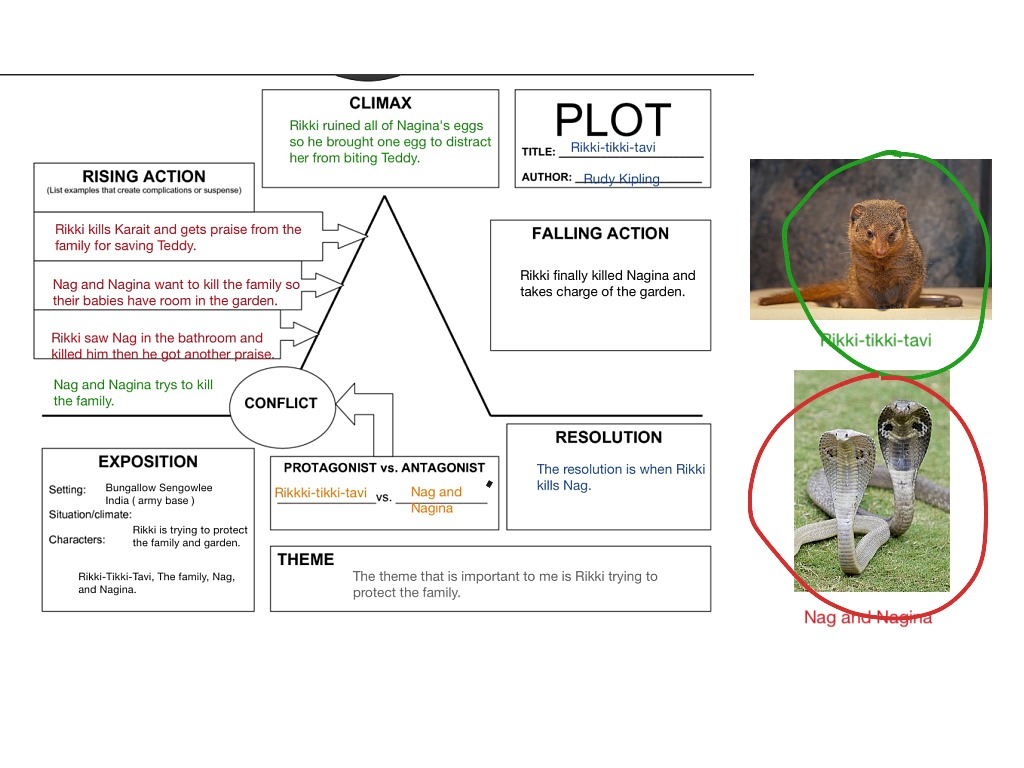 story plot diagram for hatchet 2000 jeep cherokee ignition switch wiring showme rikki tikki tavi arc