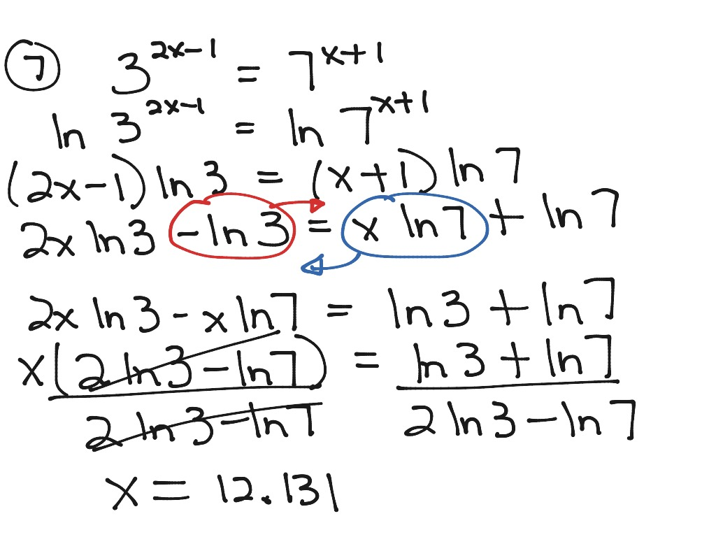 4 4 Solving Exponential Equations