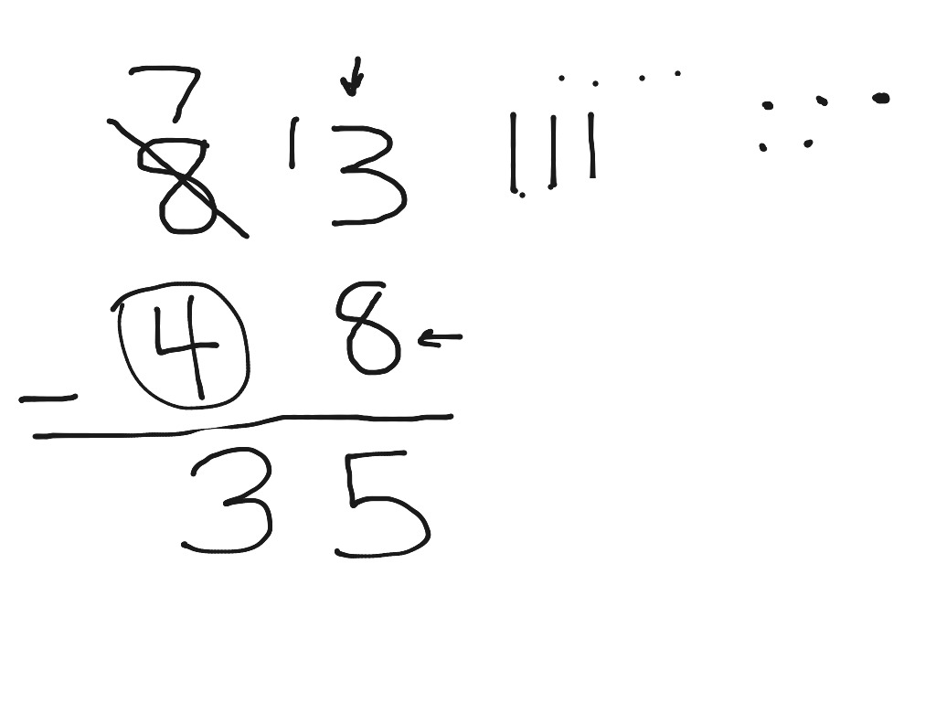 Base Ten Blocks Subtraction And Regrouping