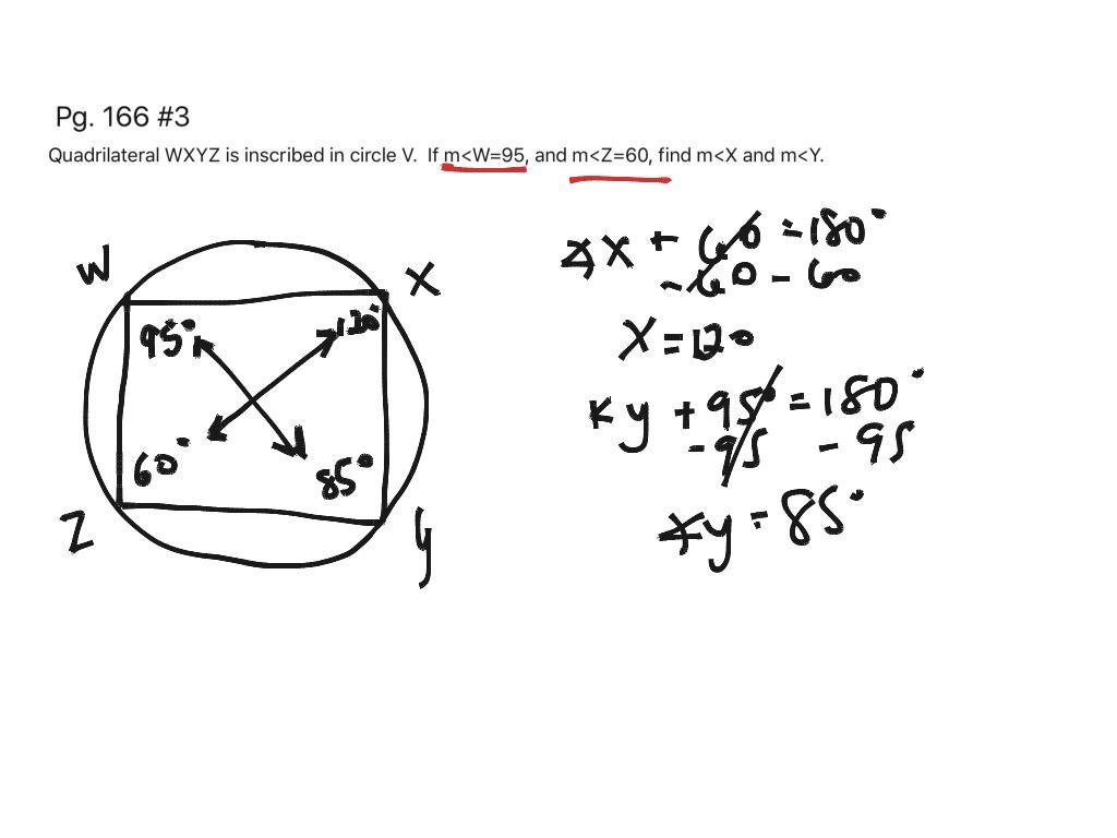 Circles 6 Inscribed Angles