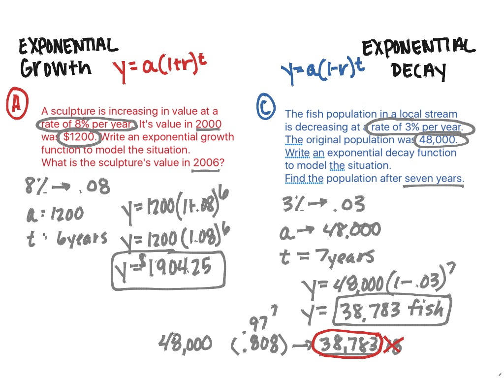 11 3 Exponential Growth And Decay Half Life Compound