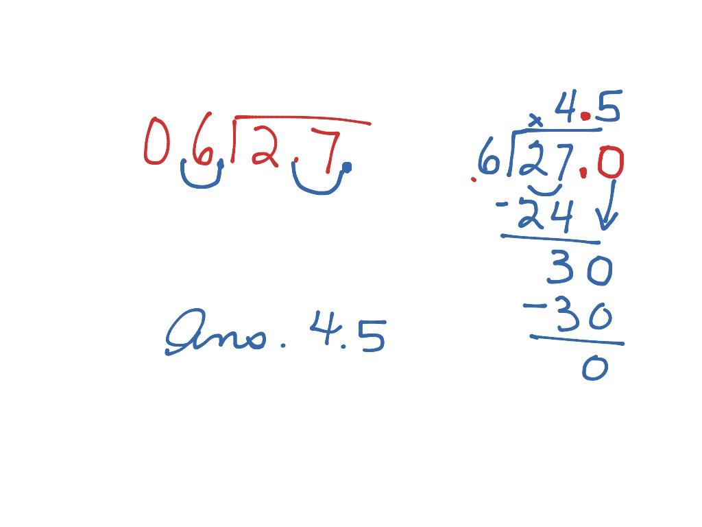 Dividing Decimals Go Math 5 7
