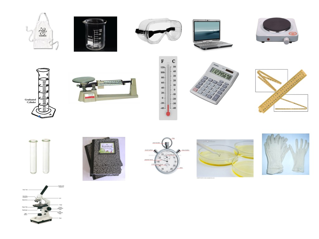 6th Grade Science Tools