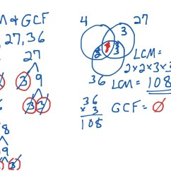 Hcf And Lcm Using Venn Diagrams Baldor Reliance Motor Wiring Diagram Gcf For 3 Numbers Math Middle School Showme