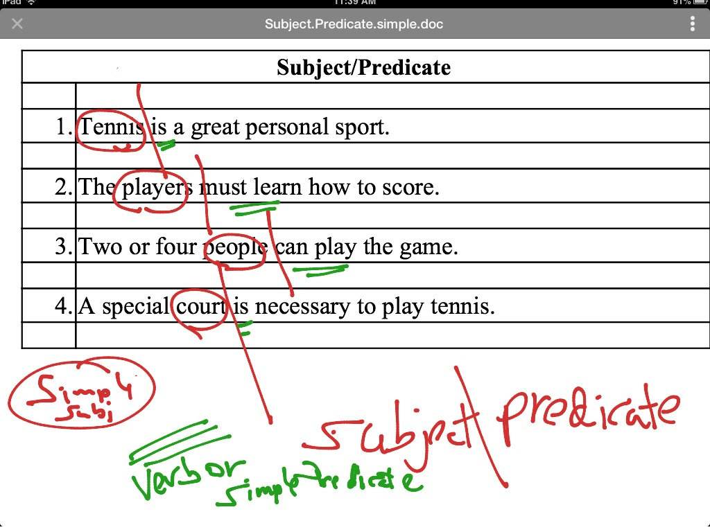 simple subject and verb diagram blank half court basketball showme predicate