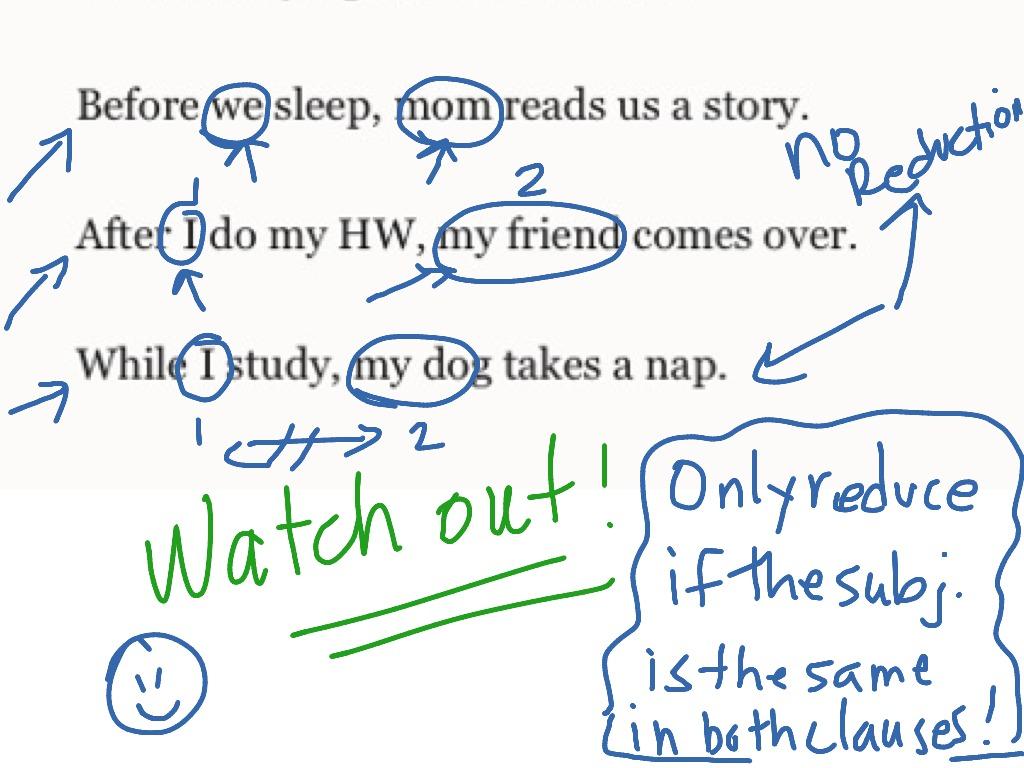 Adverb Clause English Grammar 101 02 26