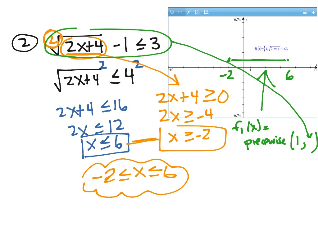 Algtrig Section 8 8 Solving Eq S W Rational Exponents Amp Solving Radical Inequalities