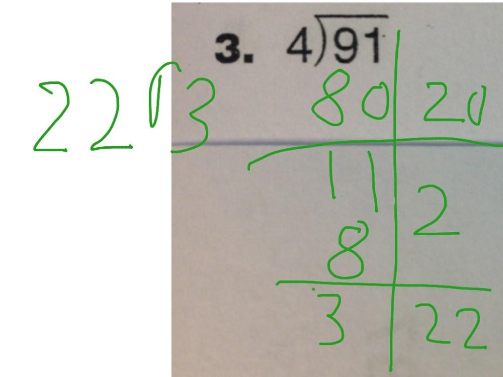 medium resolution of Everyday Math 6.3: Partial Quotient Division   Math
