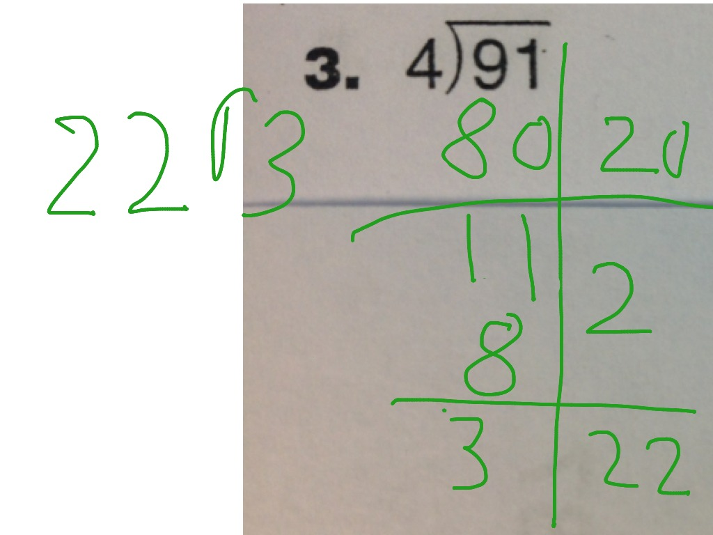 hight resolution of Everyday Math 6.3: Partial Quotient Division   Math