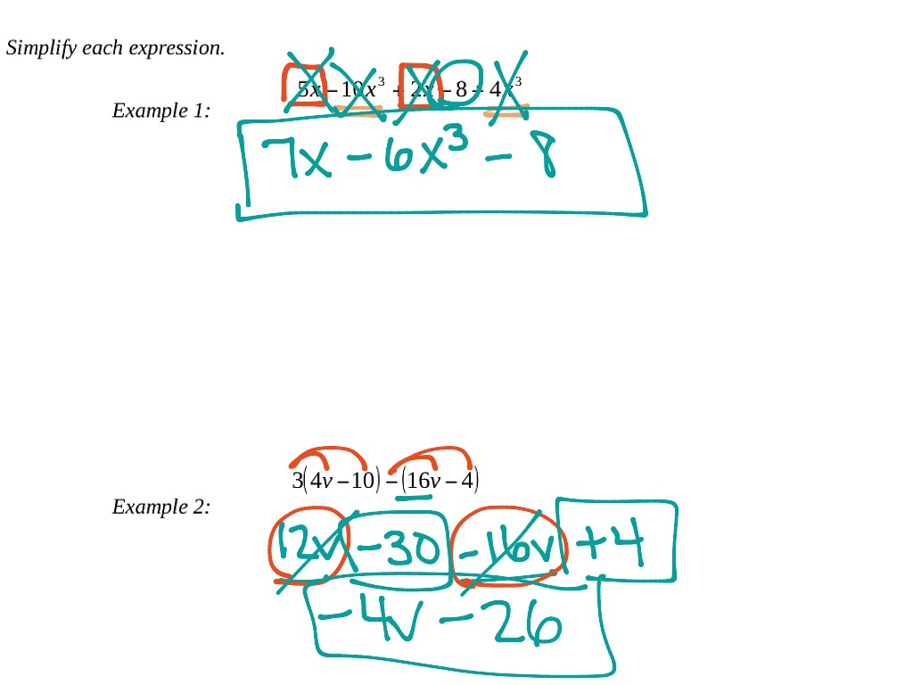 Unit 1 1 Lesson 3 Combining Like Terms