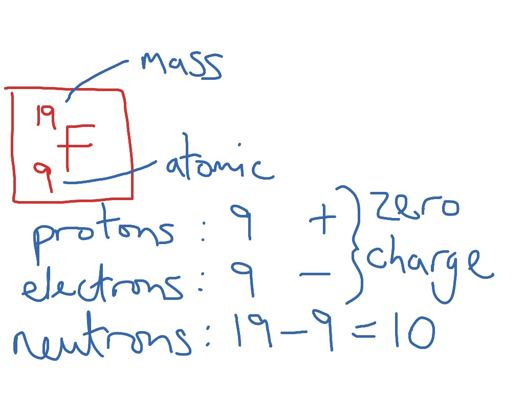 Protons Neutrons And Electrons