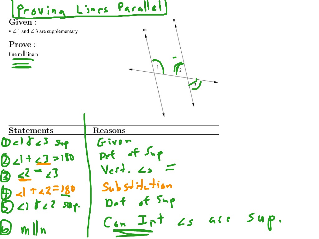 Worksheet Proving Lines Parallel Worksheet Grass Fedjp