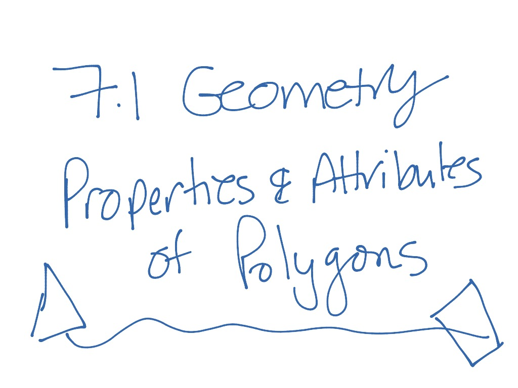 7 1 Geometry Properties And Attributes Of Polygons