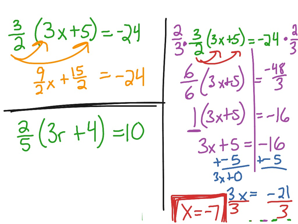 3 2 Solve Multi Step Equations