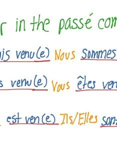 Venir conjugation video humphries language french verbs grammar showme also rh
