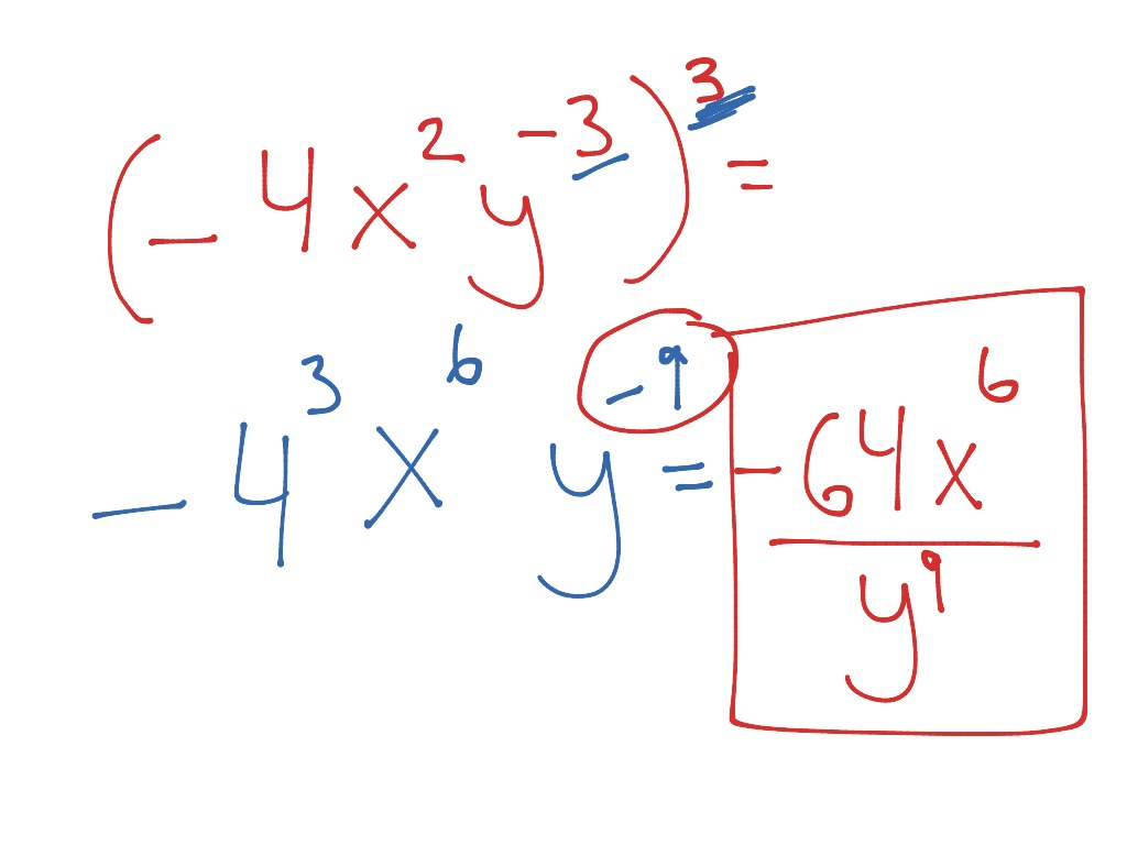 8 4 More Multiplication Properties Of Exponents