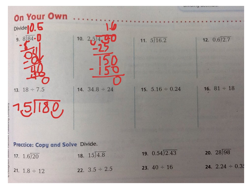 Go Math Grade 6 Practice Book Answer Key Solutions To Go