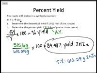 worksheet. Stoichiometry Percent Yield Worksheet ...
