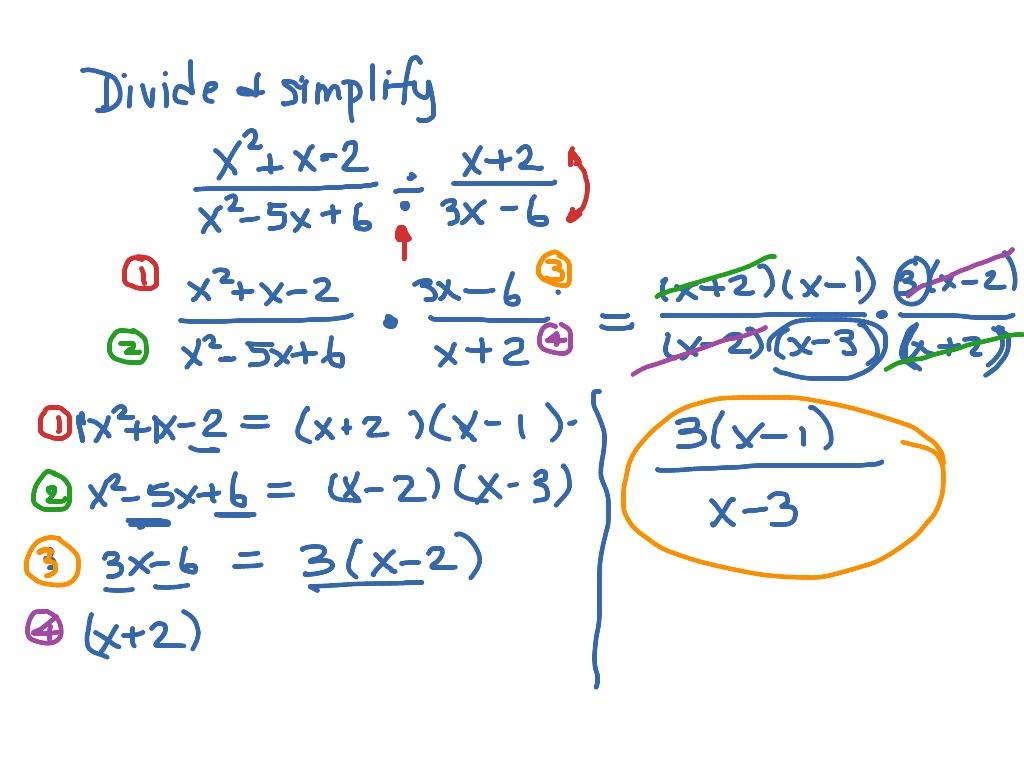 Mat Aleks Module 7 Dividing Rational Expressions