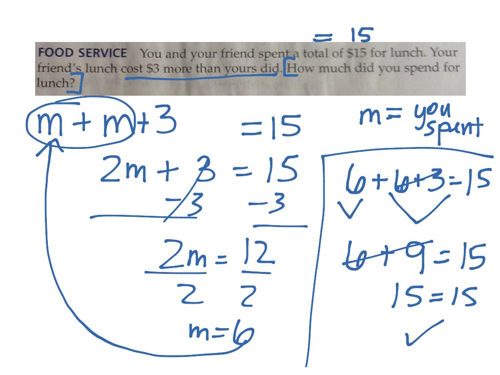 hight resolution of Writing Two-Step Equations   Two-Step Equations