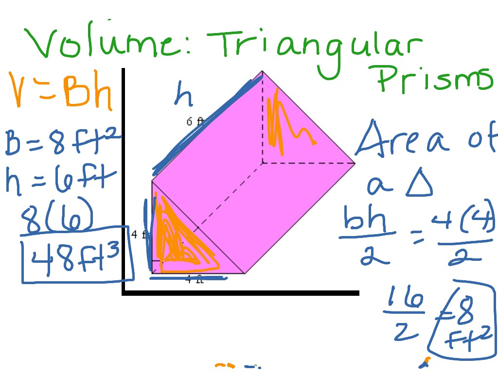 Volume Triangular Prism