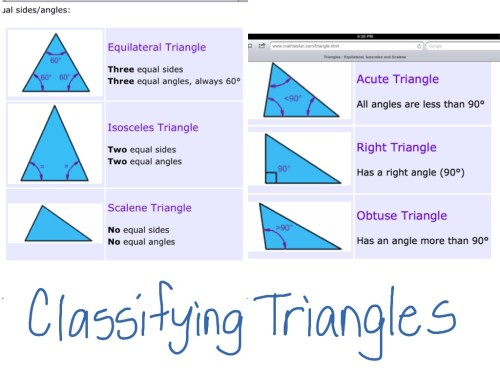small resolution of Classifying triangles   Math