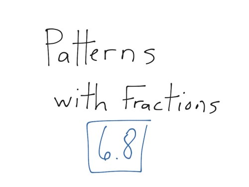 small resolution of Math lesson 6.8   Math