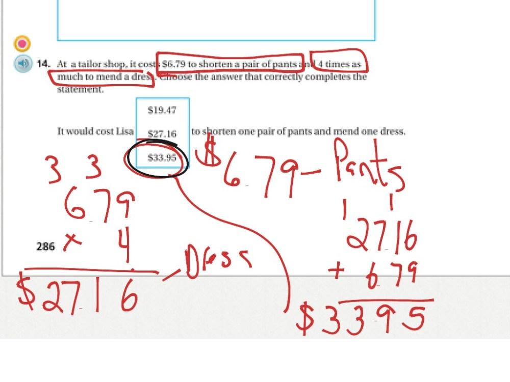 medium resolution of 5th grade Chapter 4 review sheet part 1   Math